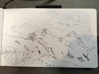 Quick ink sketch