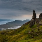 Old Man of Storr, Castle and somewhere a lighthouse!